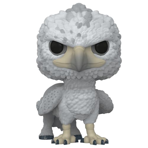 Figurine Pop Buckbeak flocked